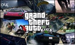 Grand theft auto 5 for PC in HDD,pen drive or DVD. The