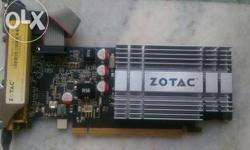 1 GB ZOTAK Graphic Card DDR2 -good working in Home