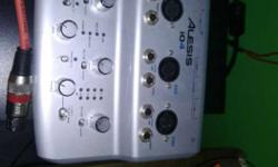 Gray Alesis 10R Audio Switch