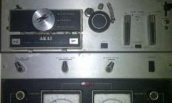 Gray And Black Akai Solid State M-10