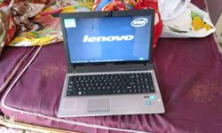 Gray And Black Lenovo Laptop core i5 2gb 500 GB 3 hour