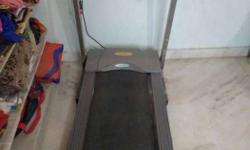 Gray And Black Manual Treadmill
