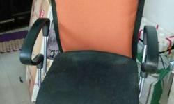Gray And Black Rolling Office Chair