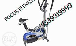 Gray Black And Blue Elliptical Trainer Advertisement