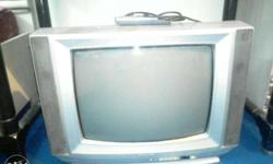 Gray CRT TV videocon good condition tv ,4 years old 28