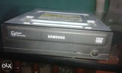 Gray Samsung DVD writer sh224 is working
