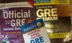 Mint Condition books for GRE Preparation the set of 3