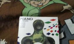 Green And Black Hand Spinner