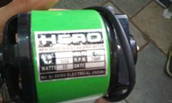 Green And Black Hero Brand Sewing machine Motor