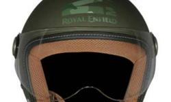 Green And Brown Half-face Helmet Screenshot