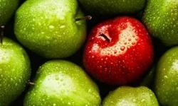 Green And Red Apple Lot