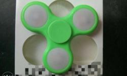 Green Led Hand Spinner With Box. Wholesale price