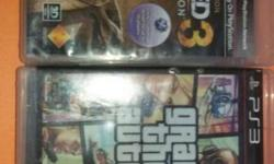 Gta 5 and uncharted 3 for 2500 Other games available