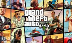 Gta 5 pc game 100 percent working . Hard disc data and