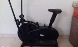 Gym equipment new condition very less used Cycle and