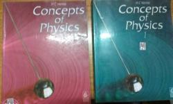 H.C.Verma concepts of physics both volumes 1 and 2 just