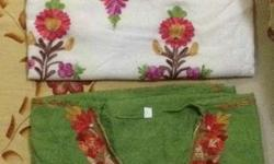 Hand knitted embroidery, pure Kashmiri cotton kurtis.