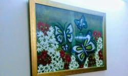 Butterflies painting for sale