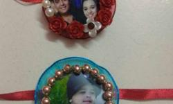 handmade photo rakhi