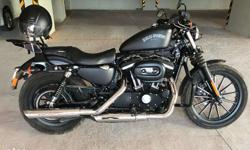 Show room condition Harley Davidson Iron 883 Black 2014