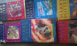 Harry potter all books 1st to 6th parts . New and