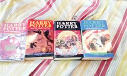 Harry potter series(philosophers stone) -(goblet of