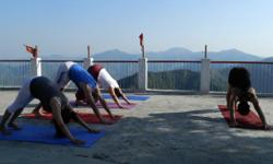 Hatha Yoga refers to a set of physical exercises (known