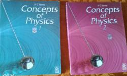 HC Verma part 1 and 2- New condition Rs. 300 for both