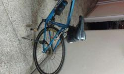 Hercules Act 110 , hybrid bicycle, blue color