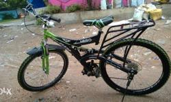 Hero Bicycle with gears 3 months old good condition