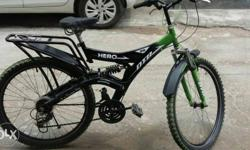 Hero cycle new condition Only 8 month old With gear