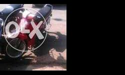 hero honda street red colour 100 cc ,38000 km run 45-60