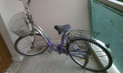 hero Miss India Fashion bike in good condition. Only