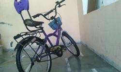 Cycle in good condition with basket