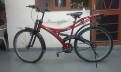 Mint condition bicycle..with new tyres..red