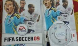 hi guys I am selling my Sony psp's games (fifa soccer 9