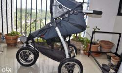 A versatile baby stroller of high European quality. -