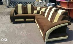fantastic colour and design L shape sofa