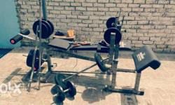Home Gym, 14 exercises in 1 assembled Machine, in Good