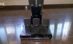 LG home threate with DvD player good condition