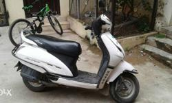 My honda activa is exlent condition,no need to spend