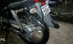 Well maintained condition new tyres spoke wheel and