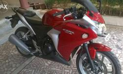 2013 modal cbr for sale only 20000 km run Red colour