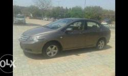 Honda city 1.5 S MT 2013, petrol variant, silver colour