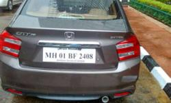 Car of senior Public Sector officer, near to new
