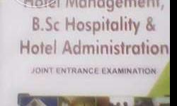 for all hotel management entrance exams. book is in