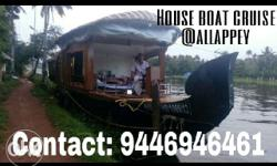 One bed room houseboat Contact: nine four four six nine