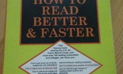 How to read better and faster by Norman Lewis.