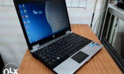 HP elite book 2540P intel coer i5 Rs.11000 with 4gb ram