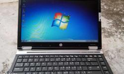 Hp elitebook 8440p with i7, 8gb ram, 2gb graphics card,